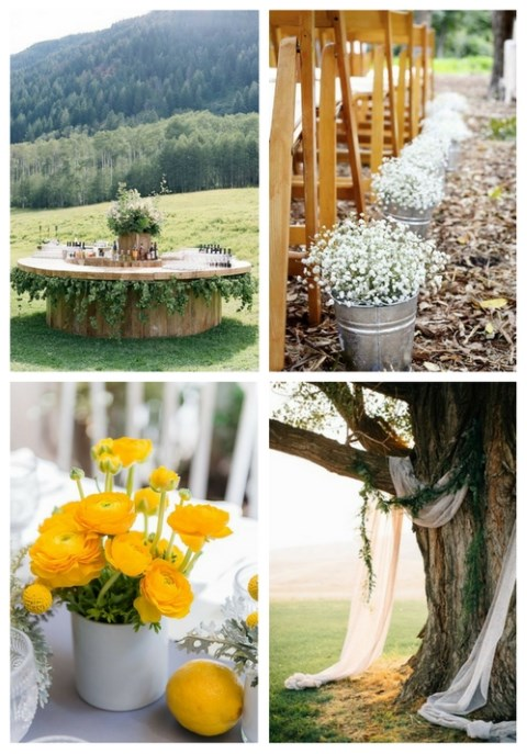 26 Simple And Cute Spring Backyard Wedding Ideas
