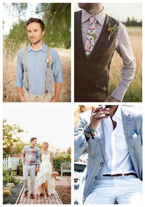Civil Wedding Attire For Bride And Groom