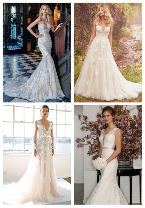 25 Spring 2017 Wedding Dresses That Inspire