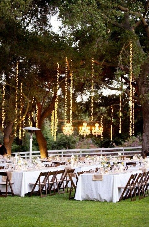 38 Outdoor Wedding Lights Ideas You'll | HappyWedd.com on photography lighting ideas, string lights for wedding reception ideas, backyard wedding decoration, small backyard wedding reception ideas, backyard wedding ceremony ideas, beach lighting ideas, outdoor unique wedding ideas, backyard wedding food ideas, backyard vintage wedding ideas, rustic lighting ideas, fun lighting ideas, backyard wedding table setting ideas, backyard wedding centerpiece ideas, backyard wedding seating ideas, outdoor lighting ideas, backyard wedding decor ideas, back yard tent lighting ideas, backyard wedding canopy ideas, party lighting ideas, small outdoor wedding ideas,