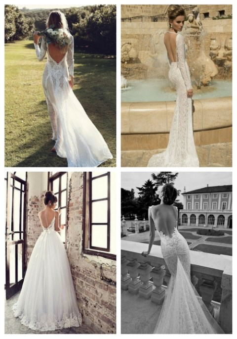 42 backless wedding dresses that wow happywedd 42 backless wedding dresses that wow junglespirit Gallery