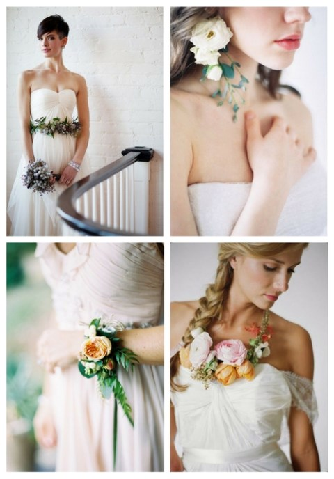 43 Wearable Flower Wedding Accessories