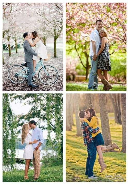 Love In Bloom: 45 Spring Engagement Shoot Ideas