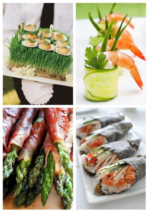 50 Tasty Spring Wedding Appetizers