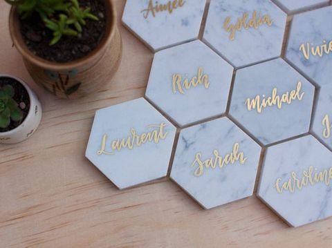 35 marble wedding ideas for a refined touch for Table design names
