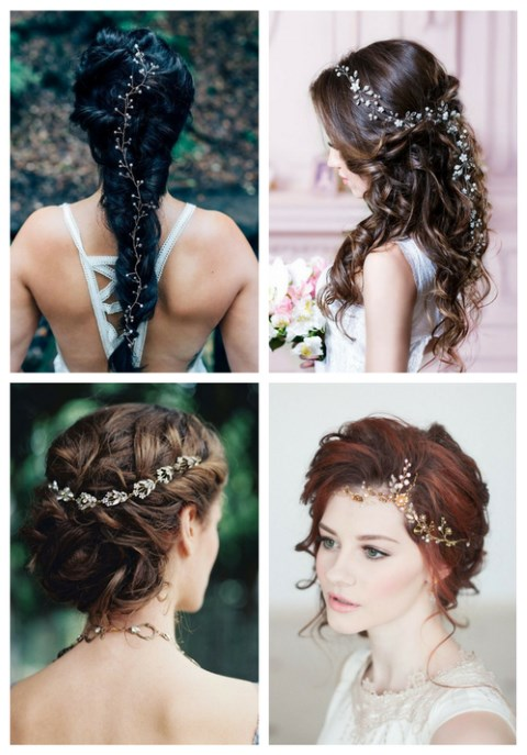 35 Stunning Bridal Hair Vine Ideas