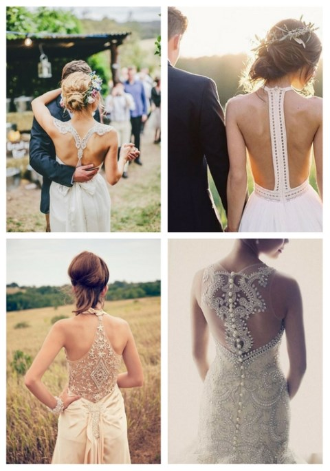 34 Refined Racerback Wedding Dresses