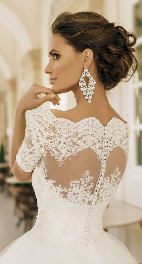 lace back with buttons
