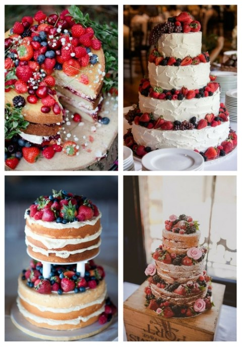 33 Yummy Berry Cakes For Summer Weddings