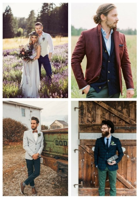 31 Coolest Boho Groom Attire Ideas