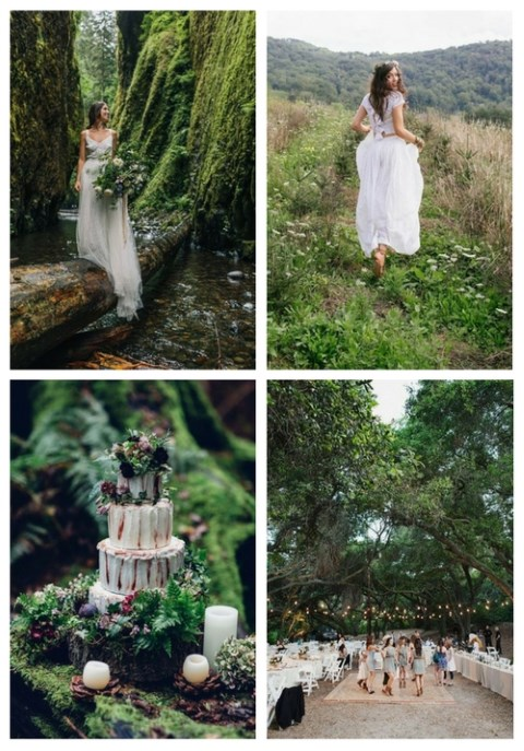 55 Relaxed Summer Woodland Wedding Ideas