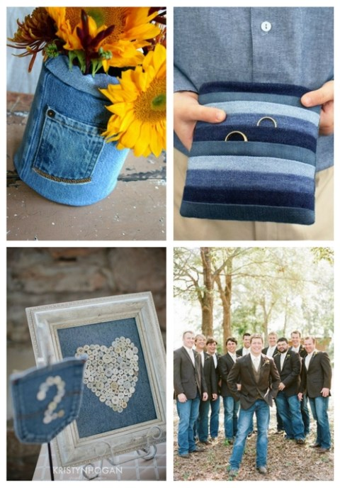 22 Casual Denim Wedding Ideas
