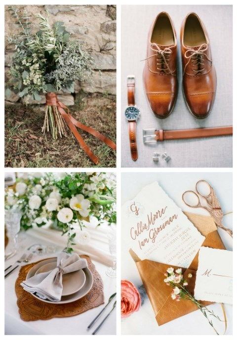 29 Edgy Leather Wedding Ideas