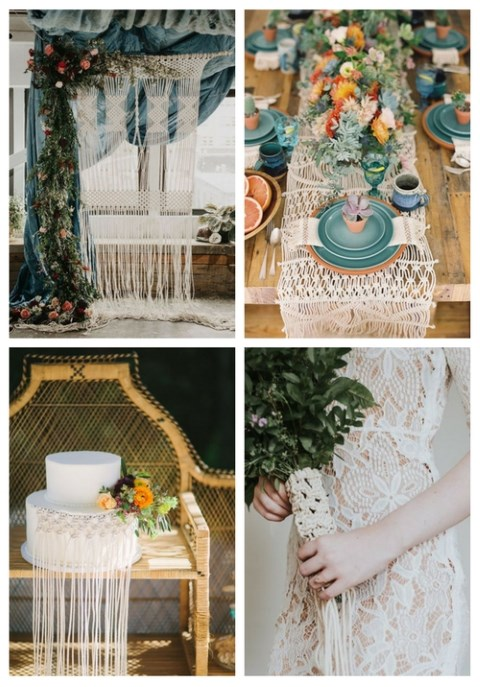 40 Macrame Wedding Ideas That Excite