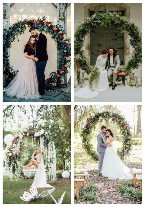 20 Giant Wedding Wreaths