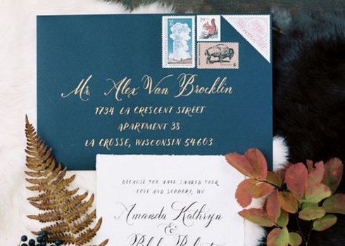 26 Chic Fall Wedding Stationary Ideas