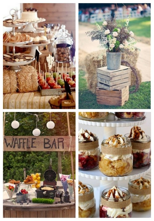 40 Creative And Cute Rustic Bridal Shower Ideas Happywedd