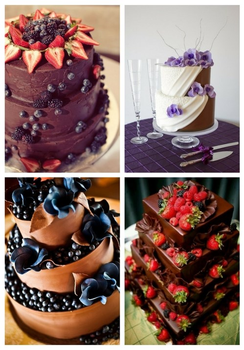 46 Dark And White Chocolate Wedding Cakes