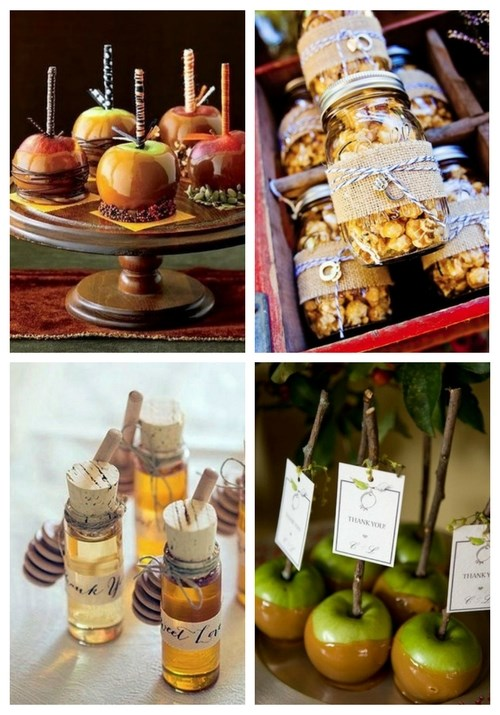 35 Edible Fall Wedding Favors