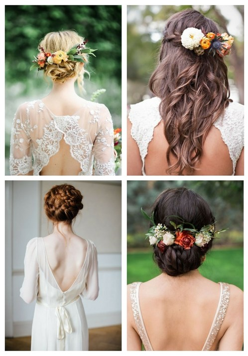 35 Beautiful Fall Wedding Hairstyles Happywedd Com