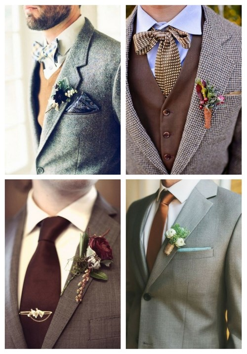28 Inspiring And Stylish Fall Groom Looks