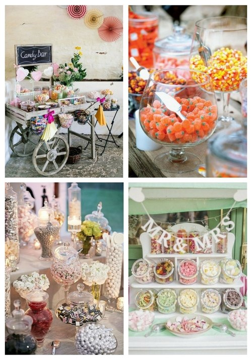Wedding Candy Bar Ideas