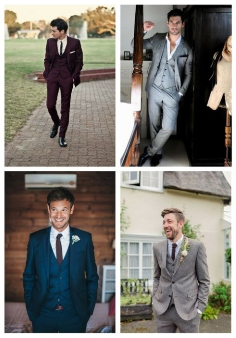 33 Dashing Three Piece Wedding Suits
