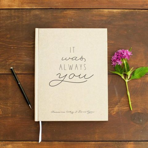 surprise your partner with a stylish journal