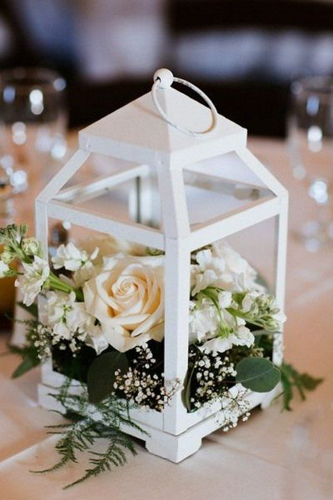 Chic lantern wedding centerpieces happywedd