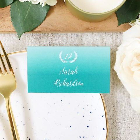 basic invite table cards 1