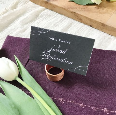 basic invite table cards 2