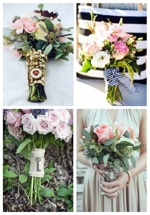 93 Beautiful Wedding Bouquet Wraps