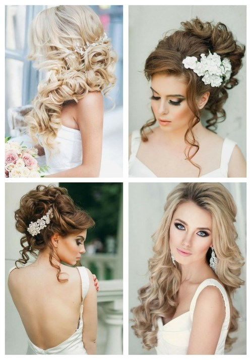 Breathtaking wedding hairstyles with curls happywedd 71 breathtaking wedding hairstyles with curls junglespirit