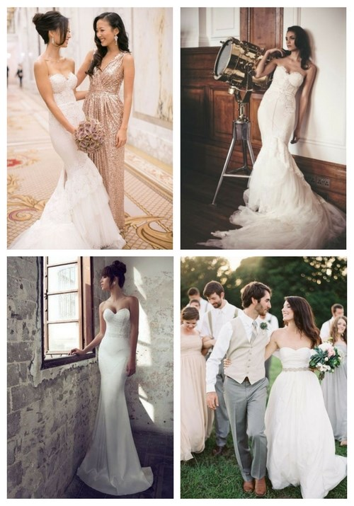 60 Jaw-Dropping Strapless Wedding Gowns
