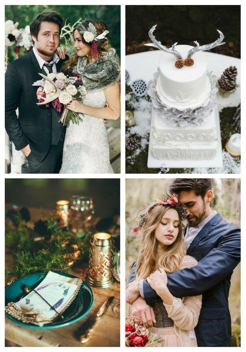 main Adorable Winter Boho Chic Wedding Ideas