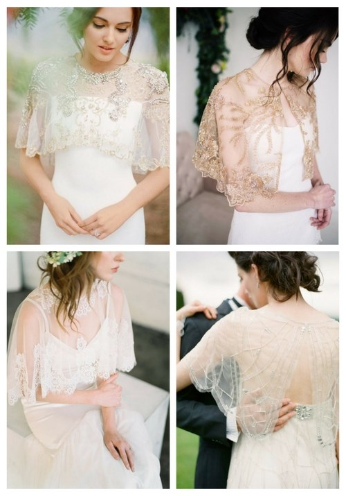 30 Amazing Wedding Capelets Ideas