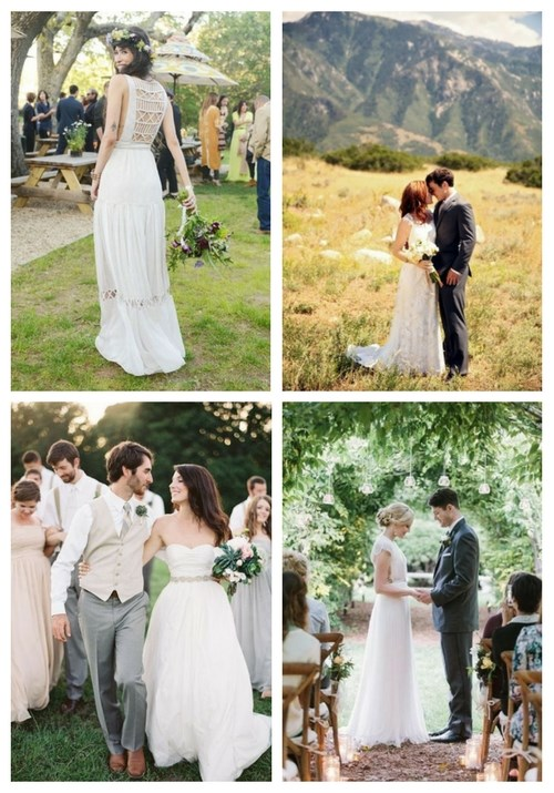 main Effortlessly Chic Backyard Wedding Dresses