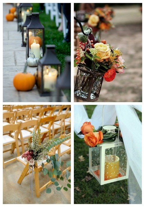 57 Fall Wedding Aisle Decor Ideas
