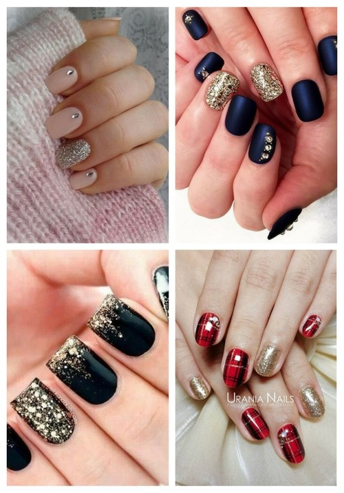 main Gorgeous Winter Wedding Nails Ideas