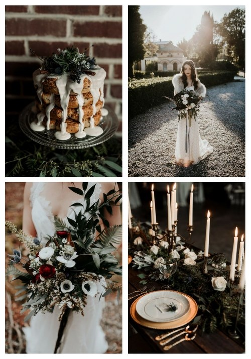 26 Moody Winter Wedding Ideas