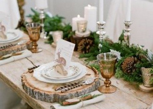 45 Cozy Rustic Winter Wedding Ideas