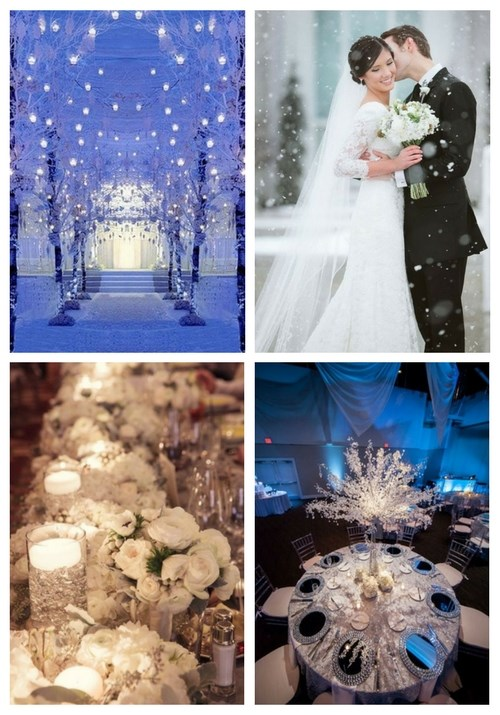 60 Adorable Winter Wonderland Wedding Ideas