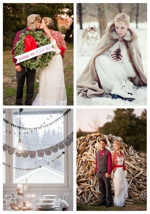 45 Cozy Scandinavian Winter Wedding Ideas