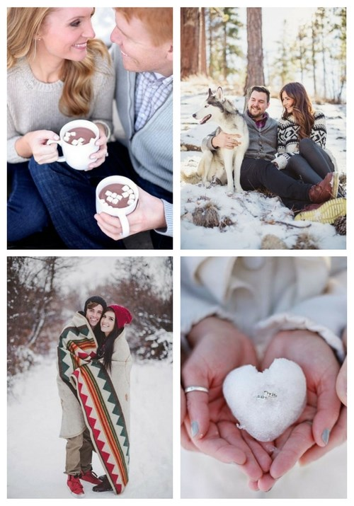 5 Useful Winter Engagement Tips And 40 Photo Ideas