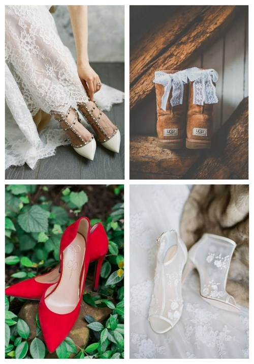 main Winter Wedding Shoes Ideas