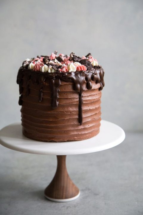 Chocolate Frosted Cake Dd