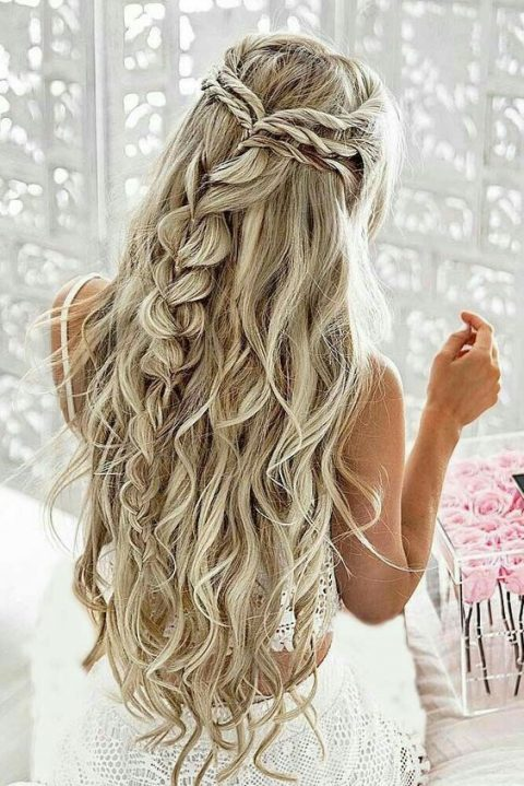25 Ultimate Braids And Braided Hairstyles For Brides Happywedd