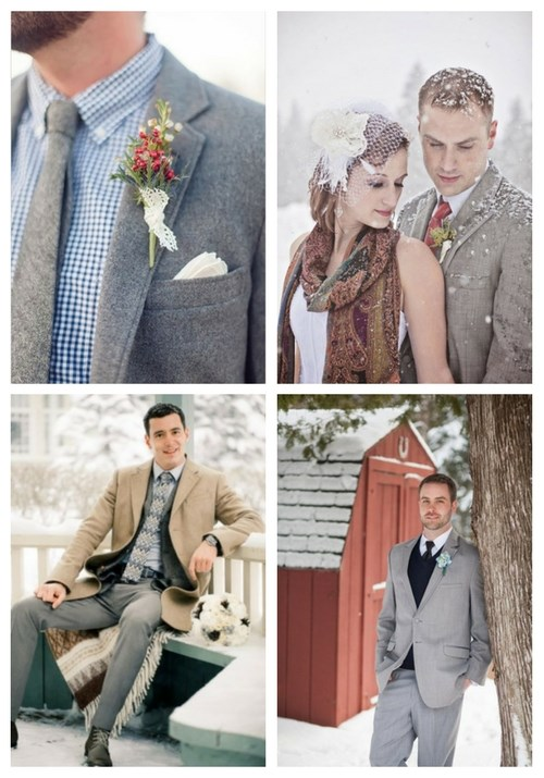 64 Awesome And Stylish Winter Groom Attire Ideas