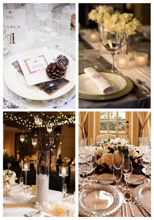 main Beautiful Winter Table Settings