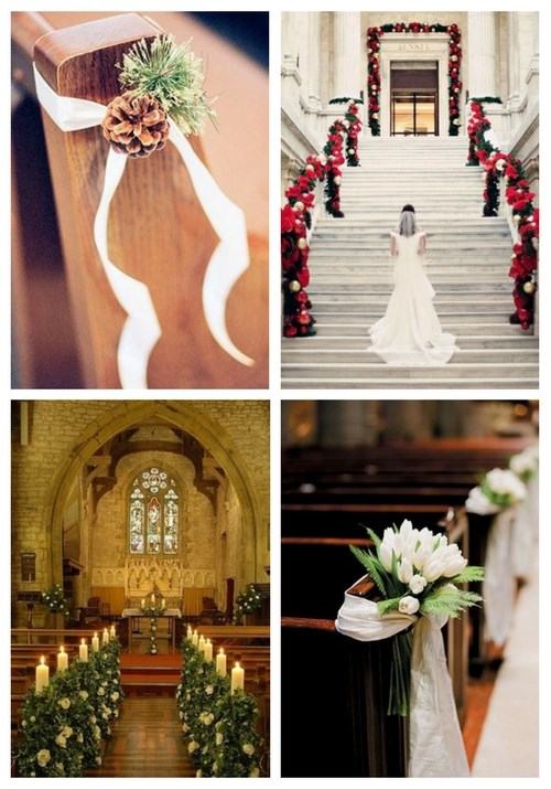35 Inspiring Winter Wedding Aisle Decor Ideas